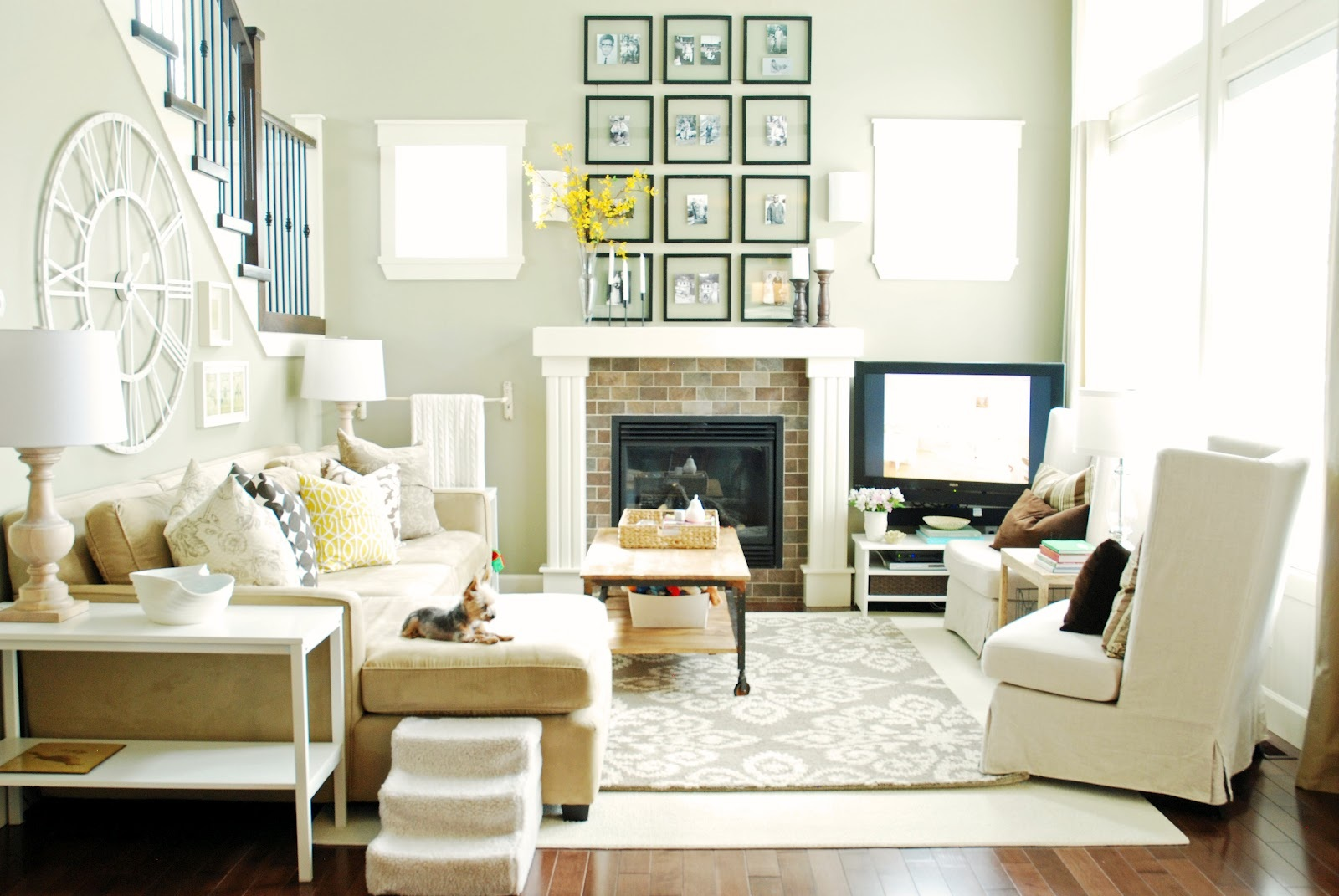 Style At Home {Layering Rugs} | Pearls Slipping Off A String